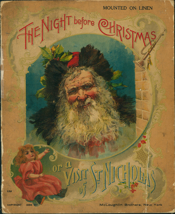 The Night Before Christmas or A Visit of St  Nicholas McLoughlin Bros